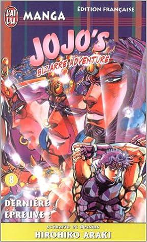 Lire en ligne Jojo's bizarre adventure, tome 8 pdf