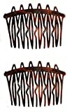 Caravan French Torotise Comb with Wave and Straight Teeth