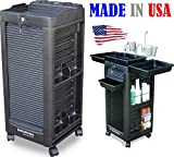 D1-L Salon Rollabout Cart Trolley Locking door w/Appliance Holder Made in USA by Dina Meri