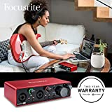 Focusrite Scarlett 2i2 2-in 2-Out USB Recording
