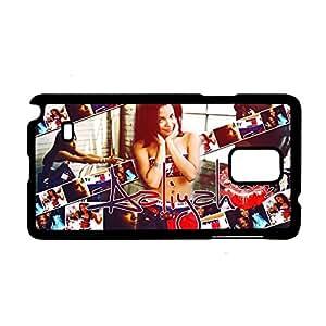 Generic Phone Shells Print Aaliyah Clear For Galaxy Note 4 Samsung Man Plastics