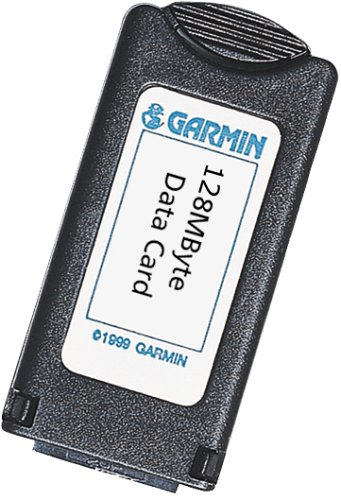 Garmin 128-Megabyte Memory Cartridge for StreetPilot and eMap (010-10226-13) (Garmin Streetpilot Gps Units)
