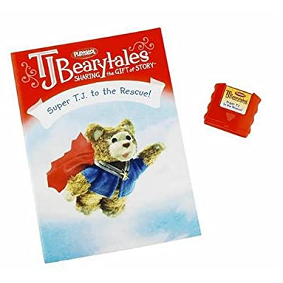 Hasbro Playskool T.J. Bearytales - Super T.J. to The Rescue: Toys & Games [5Bkhe0304550]