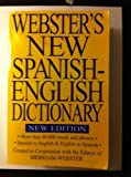 Websters New Spanish English Dictionary V2, In Cooperation With the Editors Of Merri, 1590270835