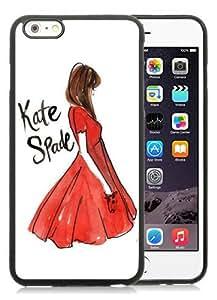 Genuine Kate 6 Plus Case,Kate Spade 141 Black Iphone 6 Plus 5.5 Inches Screen TPU Phone Case Luxury and Nice Design