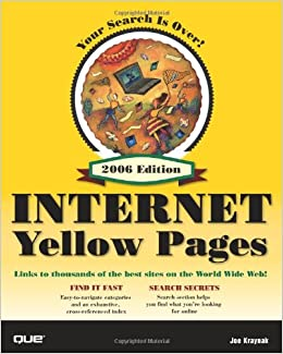 Que's Official Internet Yellow Pages, 2006 Edition: Joe