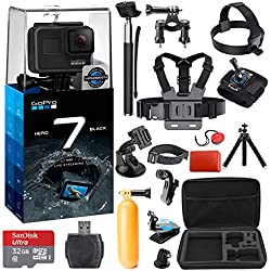 GoPro HERO 7 (Black) Action Camera + 38 Piece Accessory Kit