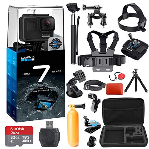 GoPro HERO 7 (Black) Action Camera + 38 Piece Accessory...