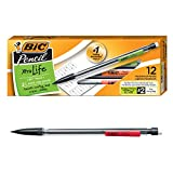 BIC Pencils Mechanical Pencils, Black, 0.7mm, Dozen Box