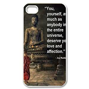 DIY Case Cover for iPhone 4,4S with Customized Buddha