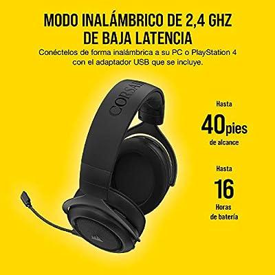 Corsair CA-9011211-EU - Auriculares inalámbricos, Negro: Amazon.es ...