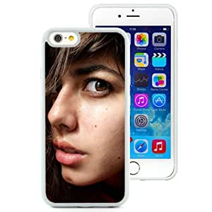 Unique Designed Cover Case For iPhone 6 4.7 Inch TPU With Sensual Brunette Girl Mobile Wallpaper (2) Phone Case