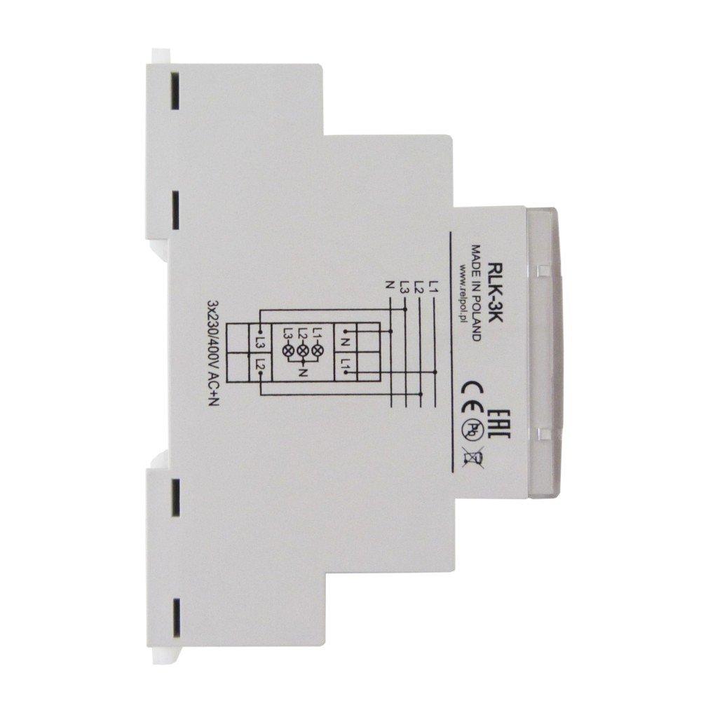 Bombilla Detector 3 fases buscapolo - Lámpara LED de control de rlk 3 K relpol 8780: Amazon.es: Bricolaje y herramientas