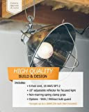 Woods 166SW Clamp Lamp with 10 Inch Reflector and