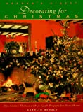 Decorating for Christmas, Carolyn Schulz, 0895778858