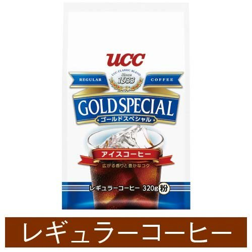 UCC gold special ice coffee 320gX3 by C&U