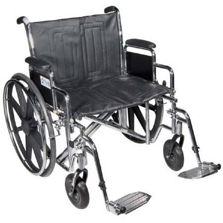 Drive STD22ECDFA-SF - Sentra EC Heavy Duty Wheelchair, De...