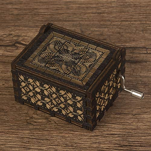 Caja De Música Sky City Hand Harry Potter Christmas Music Box ...