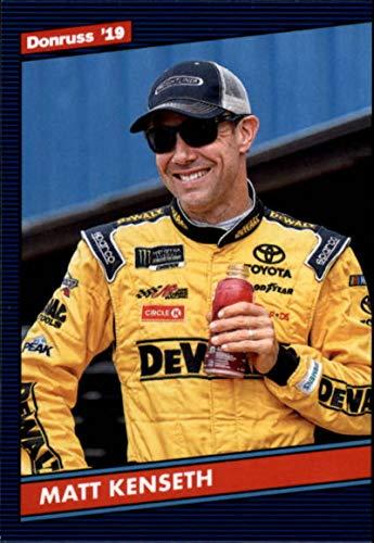 2019 Donruss Racing #136 Matt Kenseth DeWalt/Joe Gibbs Racing/Toyota Retro 1986 Official NASCAR Trading ()