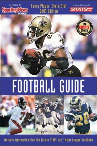 Read Online Pro Football Guide 2003 : The Ultimate 2003 Season Reference pdf epub