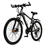 "Image of 26"" OMAAI 27 Speed Mountain Bike Road Bicycle with Alloy Wheels and Disc Brakes"