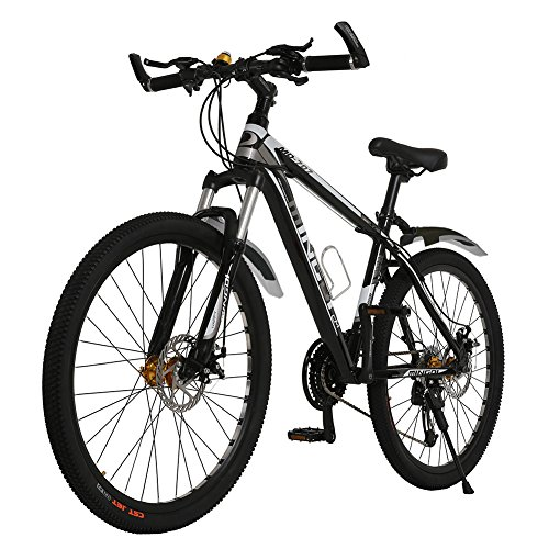 26' OMAAI 27 Speed Mountain Bike Road Bicycle with Alloy Wheels and Disc Brakes