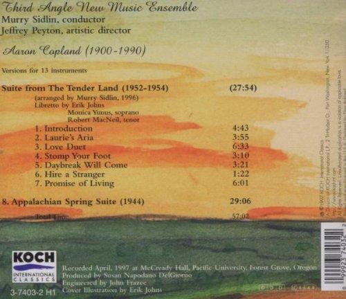 Tenderland Suite / Appalachian Spring by Koch Int'l Classics