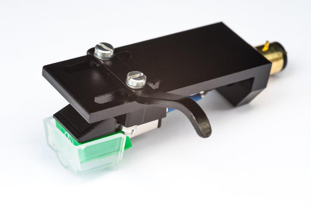 Headshell Cartridge Mount, Eliptical Stylus, Needle for Technics SL 1000, SL 1100, SL 1200, SL 1210, SL 1300, SL 1301, SL 1310, SL 1350, SL 1400, SL 1401, SL 1410, - MADE IN ENGLAND