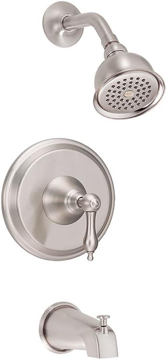 Danze D510040T Fairmont Single Handle Tub and Shower Trim Kit 2.5 GPM Chrome Valve Not Included