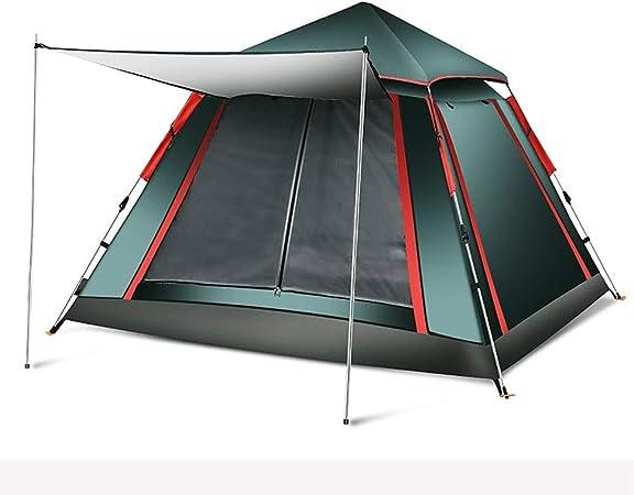 Yangxuelian Tienda al Aire Libre Carpas para Acampar 3-4 Personas Impermeable Configuración rápida Familia Dome Beach Carpa Protección UV para Playa Jardín Camping Pesca Picnic: Amazon.es: Hogar