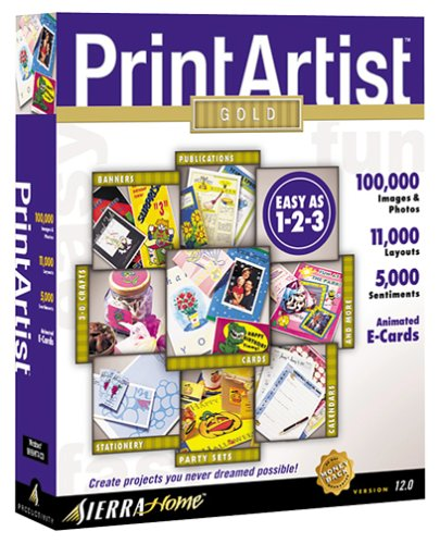 Print Artist 12.0 (Jewel Case)
