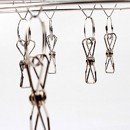 XENO-Hot Laundry Hanger Clothes Hanging Airing Racks Stainless Steel Underwear Holder