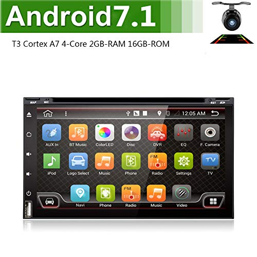 Best Wifi Model Android 6.0 Quad-Core 6.95' Full touch-screen Universal Car...