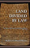 img - for Land Divided by Law: The Yakama Indian Nation as Environmental History, 1840-1933 book / textbook / text book