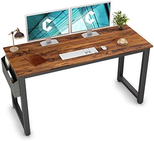 Cubiker Computer Desk 63″ Modern Sturdy Office Desk Large Writing Study Table
