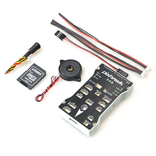 Leoie Pixhawk PX4 2.4.8 Flight Controller 32 Bit ARM PX4FMU PX4IO Combo for RC Drone FPV Racing
