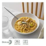 DOWAN Pasta Bowls 30oz, Large White Salad