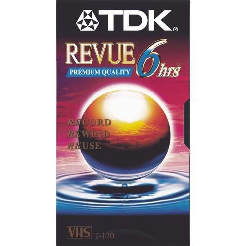 TDK T120 REVUE Package of 5