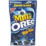 Nabisco, Mini Oreo, Bite Size Snak-Saks, 8oz Bag (Pack of 5)