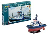 Revell Harbour Tug Boat Fairplay I/ III/ X/ XIV Plastic Model Kit