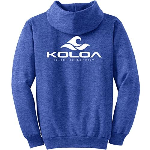fb3757122e984 Men Koloa Classic Wave Logo Hoodies Hooded Sweatshirts in Sizes S-5XL