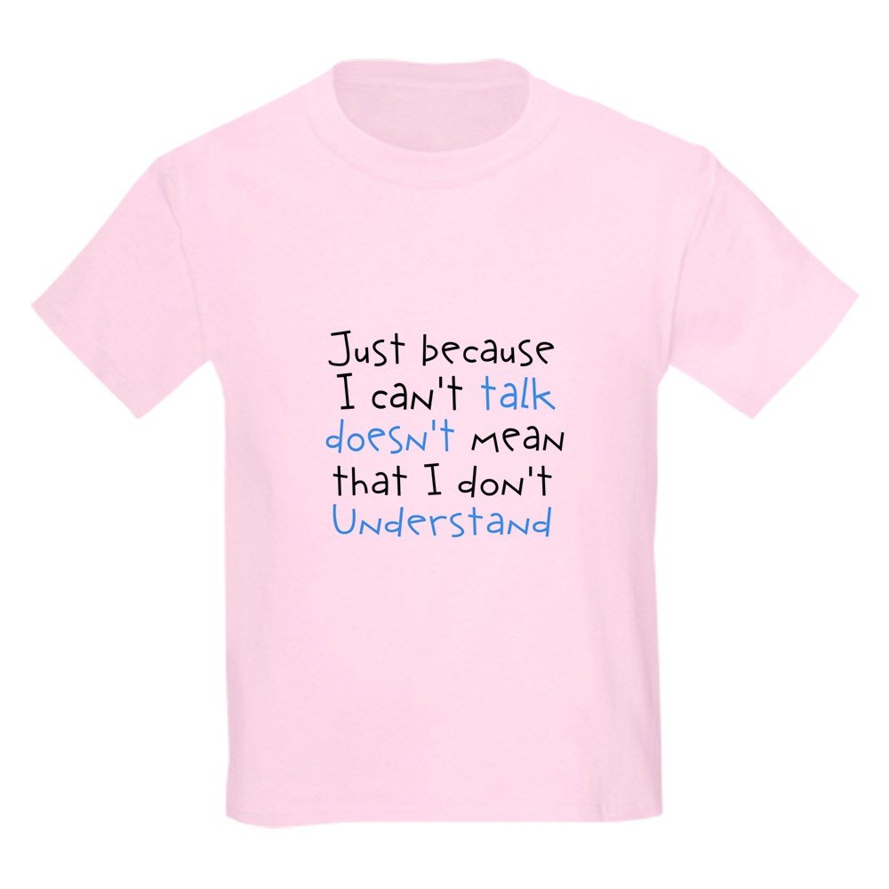 CafePress Youth Kids Cotton T-shirt Autism Just Because T-Shirt