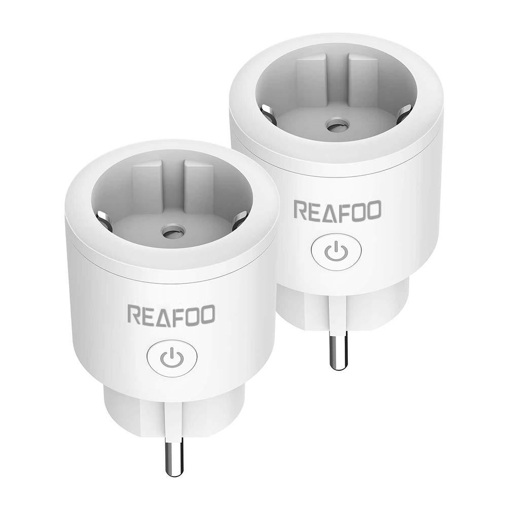 Reafoo - 16A, presa connessa intelligente, Wi-Fi