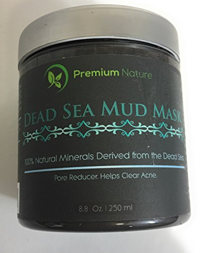 Dead-Sea-Mud-Mask-8-oz-Melts-Cellulite-Treats-Acne-and-Problem-Skin-Also-Acts-as-Pore-Minimizer-and-Wrinkle-Reducer-By-Premium-Nature