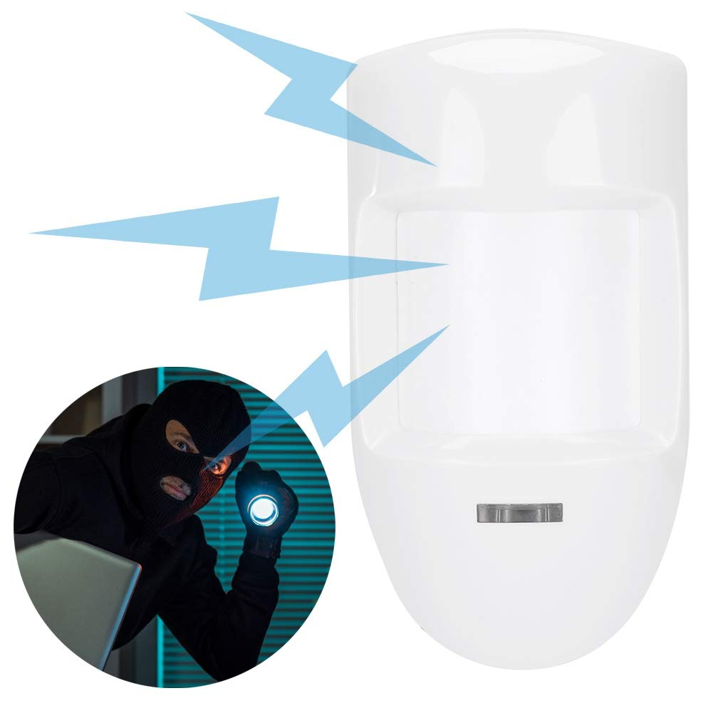12V Wired Dual Infrared PIR Motion Detector Alarm Alarm Relay for Home Pet/Thief Security System