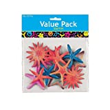 1 Dozen - Plastic Starfish Assortment - Multi-color.