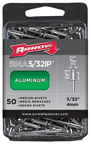 Arrow Fastener RMA5/32IP Medium Aluminum 5/32-Inch Rivets, 20-Pack