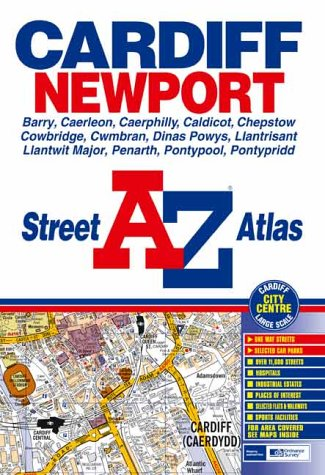 Download A-Z Street Atlas of Cardiff and Newport (Street Maps & Atlases) PDF