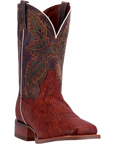 Dan Post Hombres Clark Broad Square Toe Botas Cognac, Tan