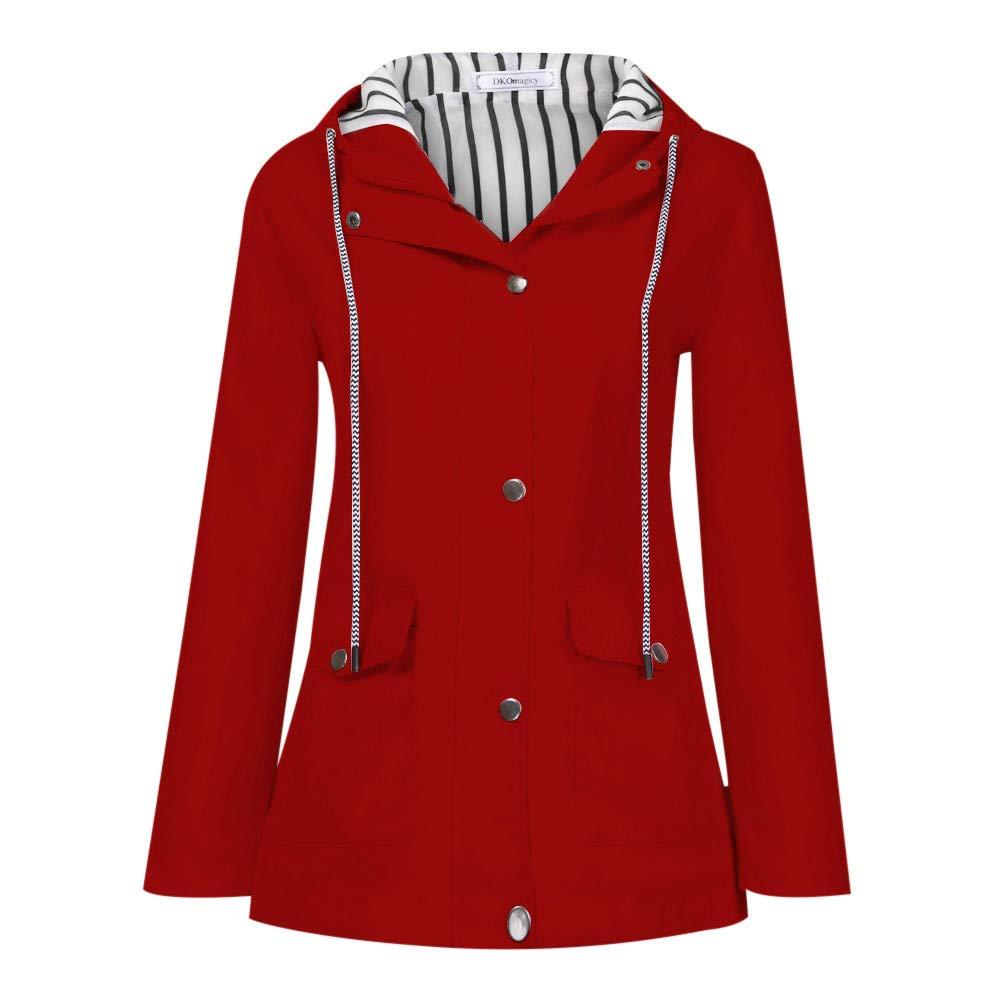 New in Winter HAALIFE◕‿ Women's Waterproof Windproof Snow Hooded Jacket Hooded Parka Winter Coat by HAALIFE Women's Clothing